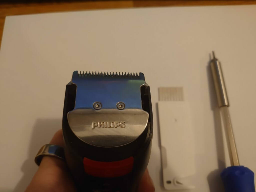 How to fix a philips hair clipper